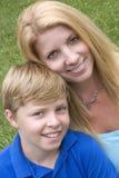 enkel förälder Royaltyfria Bilder