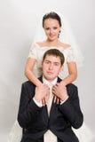 Enkel gehuwd. stock afbeeldingen
