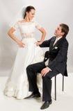 Enkel gehuwd. royalty-vrije stock afbeeldingen