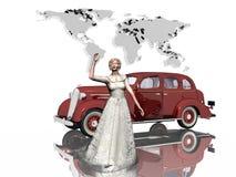 Enkel gehuwd. Royalty-vrije Stock Afbeelding