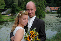 Enkel gehuwd Royalty-vrije Stock Fotografie