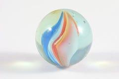 Enkel glass marmor Fotografering för Bildbyråer