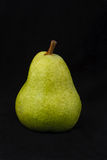 enkel grön pear Royaltyfria Foton