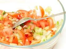 enkel grönsak för ny sallad Arkivbilder