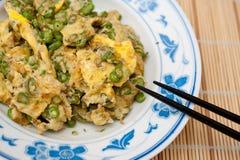 enkel grönsak för omelett Arkivfoton