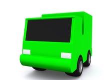 enkel green för bil 3d Arkivfoton