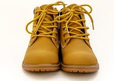 Enkel hoge schoenen stock afbeelding