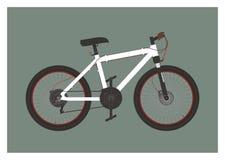 Enkel illustration för cykel Royaltyfri Illustrationer