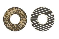 Enkel illustration för Donuts Royaltyfri Illustrationer