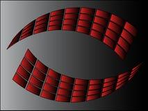enkel logo Arkivfoto