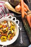 Enkel mat, grillade grönsaker Royaltyfria Foton