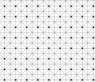 Enkel minsta abstrakt geometrisk bakgrund Royaltyfri Bild