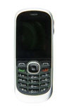 Enkel mobiltelefon med knappar Royaltyfria Bilder