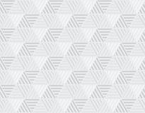 Enkel modell för geometriljussexhörning Arkivfoto