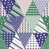 Enkel pastellfärgad blom- modell för gullig barnslig textil eller scrapbooking bakgrund Arkivfoto