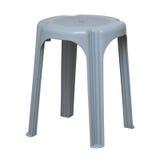 Enkel plastic stol Royaltyfri Bild