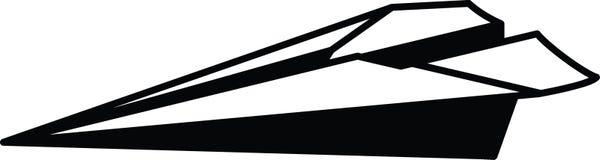 Enkel resizable redigerbar vektor för pappersnivåsymbol fullständigt i svart färg Stock Illustrationer