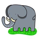 enkel sötsak för elefant Royaltyfri Foto