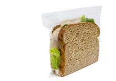 enkel smörgås Arkivfoton