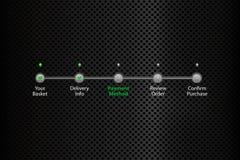 Enkel steg-för-steg framstegstång Arkivfoton