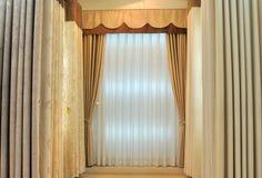 enkel stil för gardin Royaltyfri Fotografi