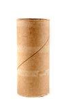 Enkel tom rulle för toalettpapper Royaltyfria Foton