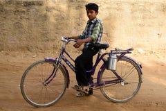 Enkel uppehälle på öknen i Gujarat Arkivbild