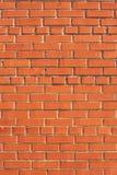 enkel vägg för tegelsten Royaltyfria Foton