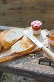 Enkel västra stilfrukost Arkivbilder