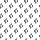 Enkel växtmodell Arkivbild