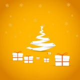 enkel vektor för jul Fotografering för Bildbyråer