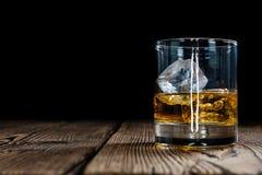enkel whiskey för malt arkivfoto