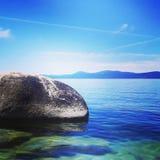 Enkelhet av en solig dag i Tahoe Royaltyfria Bilder