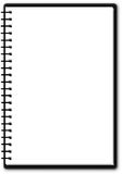 enkelt användbart för anteckningsboksida Arkivfoton