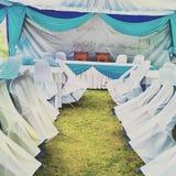 Enkelt bröllop Royaltyfri Fotografi