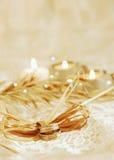 enkelt bröllop för inbjudan Royaltyfria Bilder