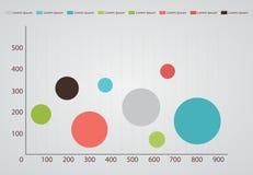 Enkelt infographic Arkivbilder