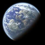 enkelt planet Stock Illustrationer