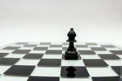 Enkelt schackstycke Arkivbild