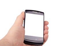 enkelt smart telefon arkivfoton