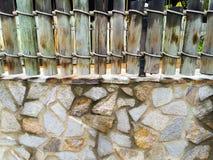 Enkelt stenstaket Abstract Fotografering för Bildbyråer