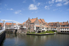 Enkhuizen. Old town of Enkhuizen in the Netherlands Royalty Free Stock Photos