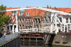 Enkhuizen bridge Stock Photo
