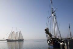 enkhuizen żeglowanie statki Zdjęcie Royalty Free