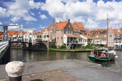 Enkhuizen Holland Stock Foto's