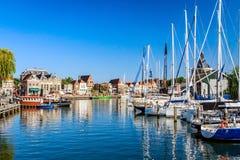 Enkhuizen, Noord-Holland, Nederland Stock Afbeelding