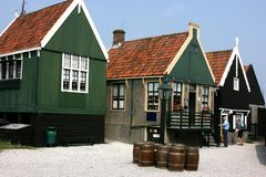 Enkhuizen in north of holland Stock Images