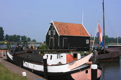 Enkhuizen in north of holland Royalty Free Stock Photos