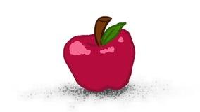 Enkla Apple Royaltyfri Foto
