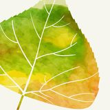 Enkla Autumn Background Arkivbild